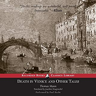 Death in Venice and Other Tales                   By:                                                                                                                                 Thomas Mann                               Narrated by:                                                                                                                                 Paul Hecht                      Length: 12 hrs and 54 mins     92 ratings     Overall 4.1