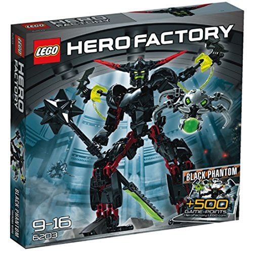 LEGO Hero Factory 6203 - Black Phantom