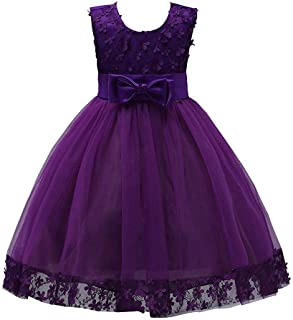 2-10T Pageant Princess Wedding Prom Ball Gown Dresses