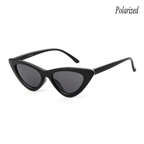 4415e6a13e Gifiore Retro Vintage Cateye Sunglasses for Women Clout Goggles Plastic Frame  Glasses