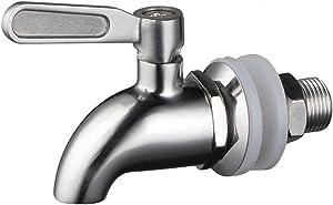 Stainless Steel Spigot for Drink Dispenser,Replacement Metal Spigot for Beverage Dispenser,Drink Dispenser Spigot,Water Dispenser Faucet