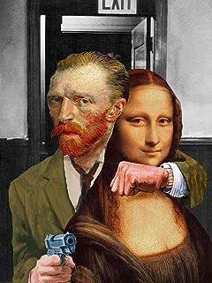 Kunst für Alle Reproduction/Poster: Barry Kite Art Theft - Affiche, Reproduction Artistique de Haute qualité, 60x80 cm