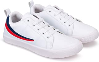 Zenwear Casual Shoes, Sneakers, Lace Up, Walking Shoes for Men,White