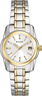Bulova Women's 26mm Classic Two-Tone Stainless Steel...