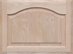 Square with Raised Panel by Kendor 23H x 15W Unfinished Oak Cabinet Door