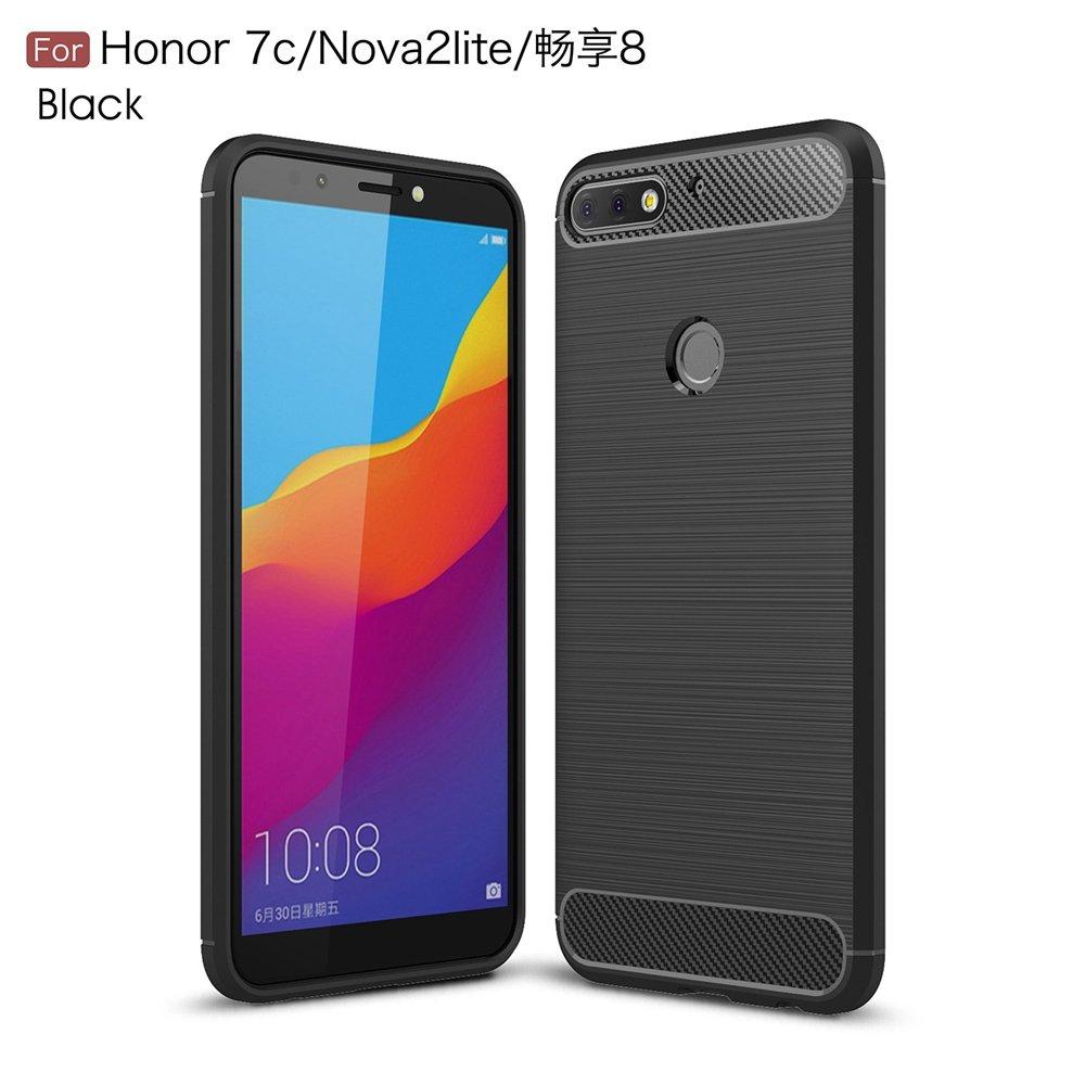 zl one Funda Huawei Honor 7C/Nova 2 Lite/Enjoy 8 Case Fibra de ...