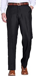 Chums Mens Stretch Waist Formal Smart Work Trouser Pants Hidden Elasticated Trousers Elasticated Trousers