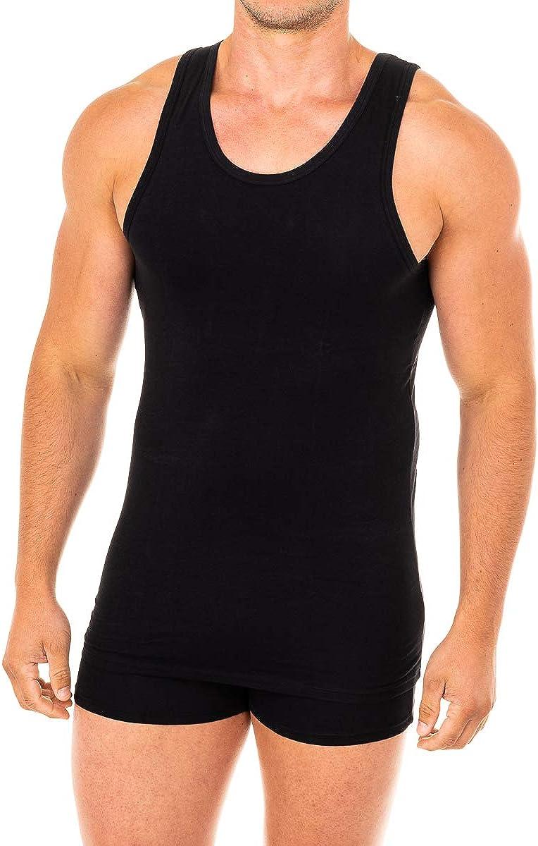 Abanderado Camiseta Sport de Tirantes Suavidad Real Algodón Peinado Hombre