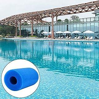 DeeCozy poolpump filter, poolfilter svamp, filter skum poolfilter patroner svamp för Intex poolfilter typ A återanvändbar/...