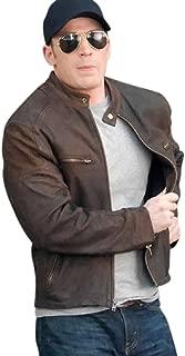 Captain America Civil War Steve Rogers Brown Jacket