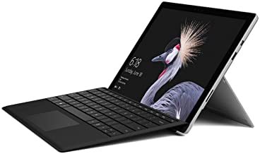 Microsoft Surface Pro (Intel Core i5, 4GB RAM, 128 GB) FJT-00001 w/ Microsoft Type Cover for Surface Pro - Black