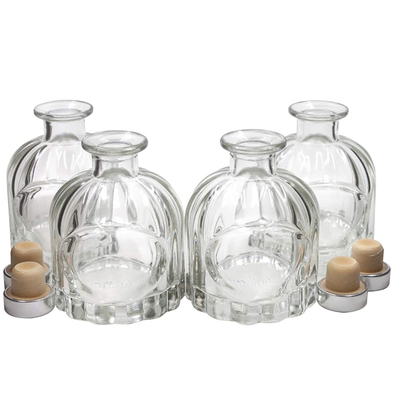 王位ロールパケットFrandy House リードディフューザー用 ガラスボトル 瓶 100ML カポチャ
