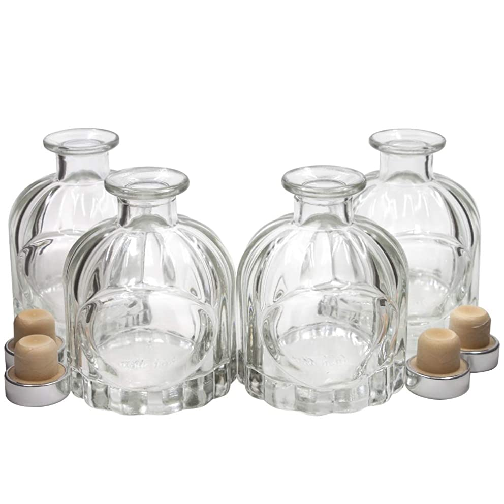謎めいたこどもの日選ぶFrandy House リードディフューザー用 ガラスボトル 瓶 100ML カポチャ