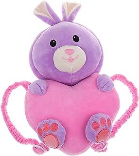 Prettyia Baby Head Protection Pad Headrest Cushion Neck Nursing Drop Resistance Cute Wing - Pink Rabbit, as described