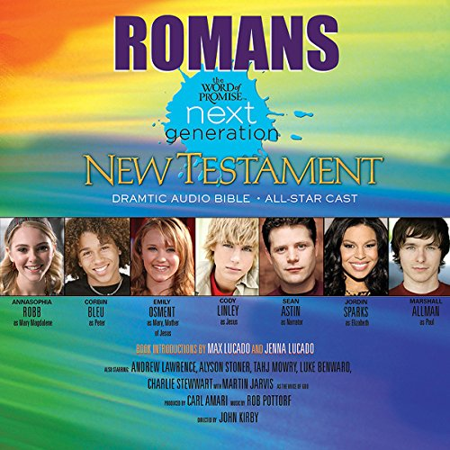 (29) Romans, The Word of Promise Next Generation Audio Bible audiobook cover art