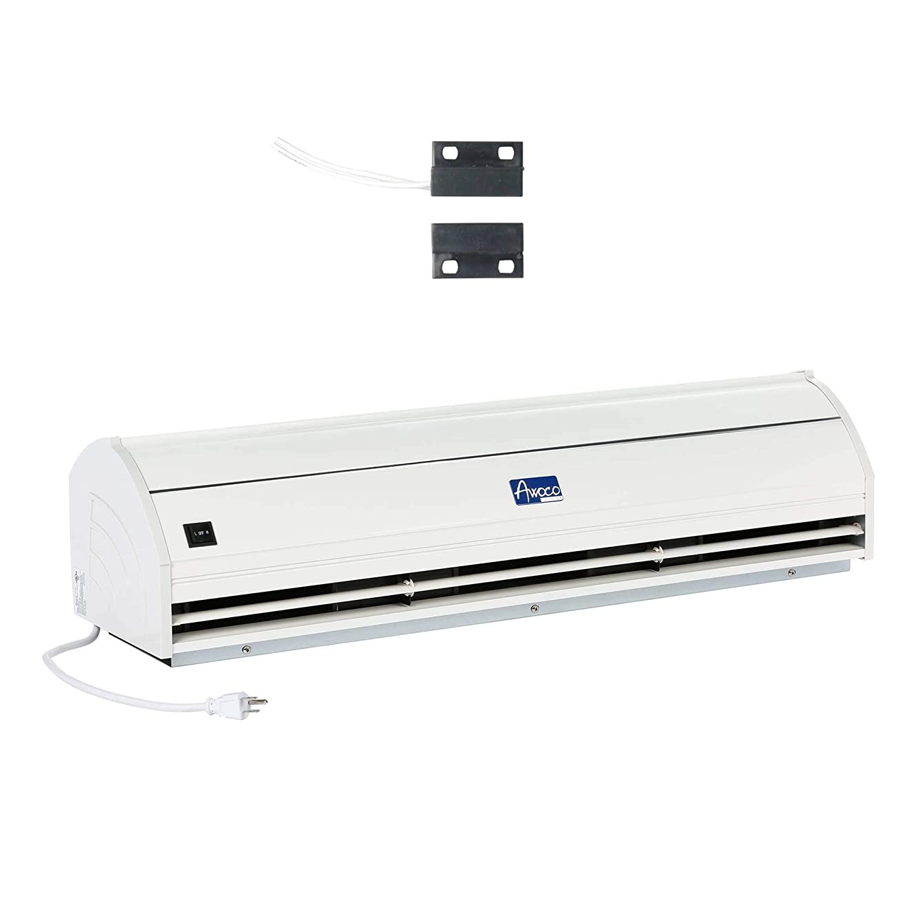 """Awoco 42"""" Elegant 2 Speeds 1000 CFM Indoor Air Curtain with an Easy-Install Magnetic Door Switch (Renewed)"""