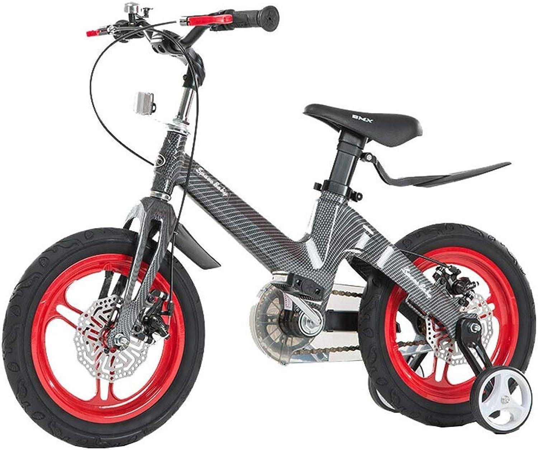 Kinderfahrrad, 14 Zoll 3-6 Jahre alt Baby Fahrrad Kinderwagen Mnner und Frauen Kinder Fahrrad Junge Mountainbike,rot