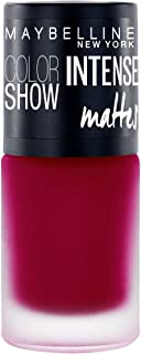 Maybelline New York Color Show Intense Nail Paint, Passionate Plum, 6ml