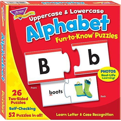 Puzzle Letras  marca Trend Enterprises