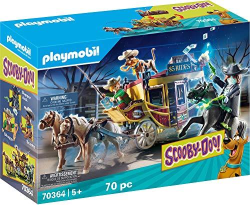 PLAYMOBIL SCOOBY-DOO! 70364 Abenteuer im Wilden Westen, Ab 5 Jahren