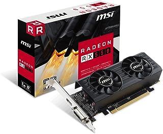 MSI - Radeon RX 550 2GT LP OC (2 GB DDR 5, 512 núcleos, 1203, DVI, HDMI, PCI Express x 16)