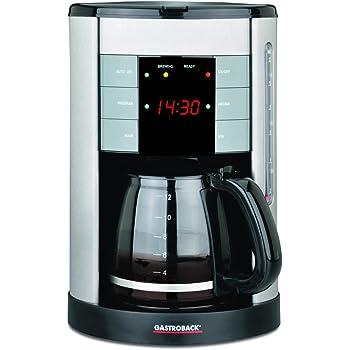 Gastroback Design Coffee Aroma Plus Cafetera de goteo programable ...