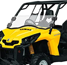 Can-Am Commander Half Windshield - Clear Scratch Resistant for 11-18 Commander 800, 11-18 Commander 1000, 16-18 Commander 800 Max, 14-18 Commander 1000 Max