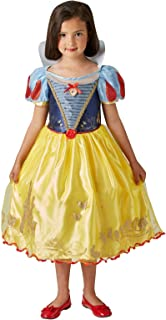 Rubie's Official Disney Princess Snow White Ballgown Girls Costume, Childs Size Medium Age 5-6 Years (630653-M)