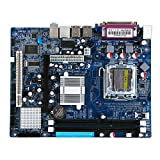 Lcg LGA 775 DDR2 Desktop Computer Motherboard for Intel 945GV Chip, Integrated Sound