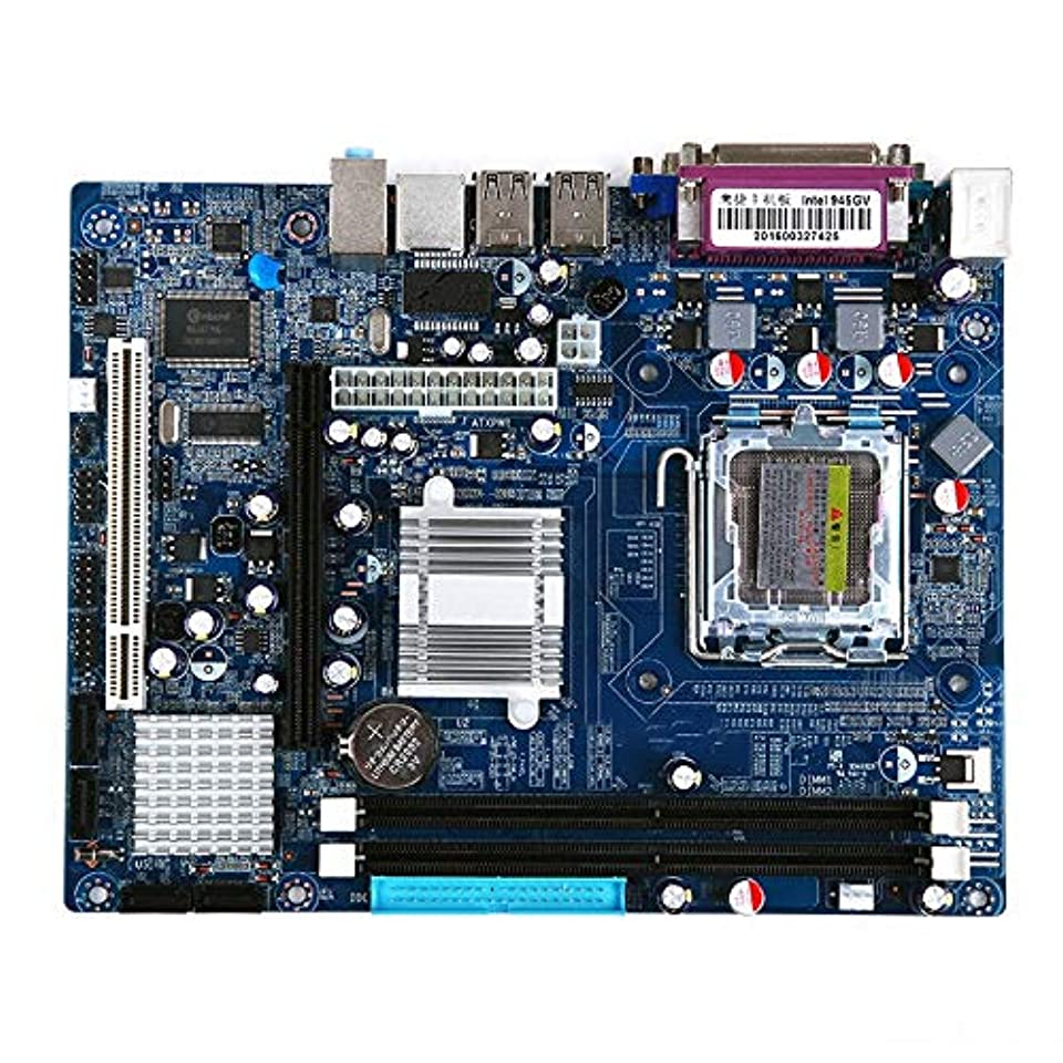香水対処する庭園WYUN インテル945GVチップ、内蔵サウンドカードグラフィックカードネットワークカード、サポートシングル/デュアルコアのためのコンピュータのマザーボード/ 775 DDR2デスクトップコンピュータのマザーボード