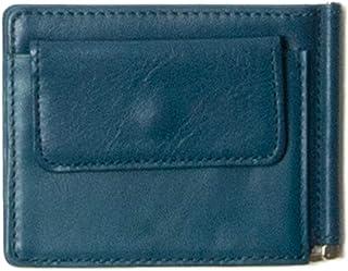 マネークリップ 本革 小銭入れ付き 薄型 メンズ レディース 財布 小銭入れ レザー 革 シンプル