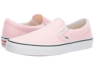 Vans Classic Slip-Ontm (Blushing/True White) Skate Shoes
