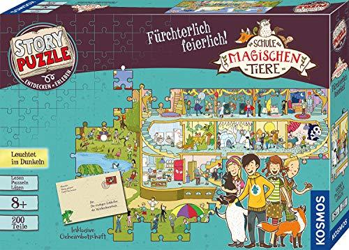KOSMOS 698690 Die Schule der magischen Tiere - Fürchterlich feierlich, Story Puzzle