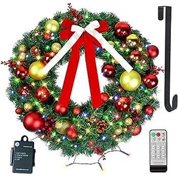 Best christmas lights wreaths Reviews