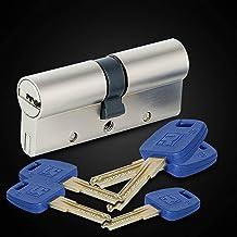 Deur vatslot Standaard Universele Koper Lock Core Cilinder Security Deur Gate Indoor Lock Core GP + Serie B 60-95mm 30 / 3...