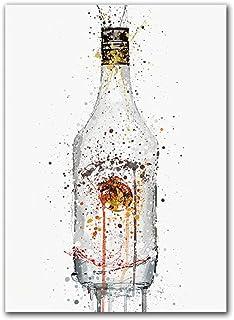 Impression sur Toile Décoration De La Maison De Style Nordique Imprime Peinture À l'huile Photo Fond De Chevet Mur Art Toi...