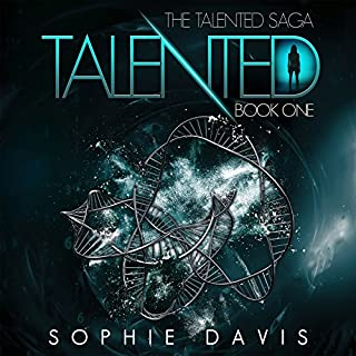 Talented audiobook cover art