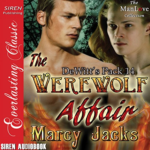 The Werewolf Affair Audiobook By Marcy Jacks cover art