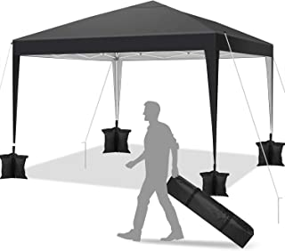 comprar comparacion YUEBO Carpa 3x3 m Carpas Plegables Impermeables Gazebo Plegable Cenador Plegable Camping Cenadores para Jardin, Fiestas