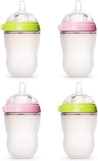 Comotomo可么多么 自然感觉8盎司婴儿奶瓶 - 4个