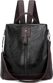 حقيبة ظهر رياضية Wujianzzhobb ، حقائب ظهر جلدية كلاسيكية للسيدات ، 3 في 1 حقائب مدرسية للنساء ضد السرقة للمراهقات ، حقيبة ...