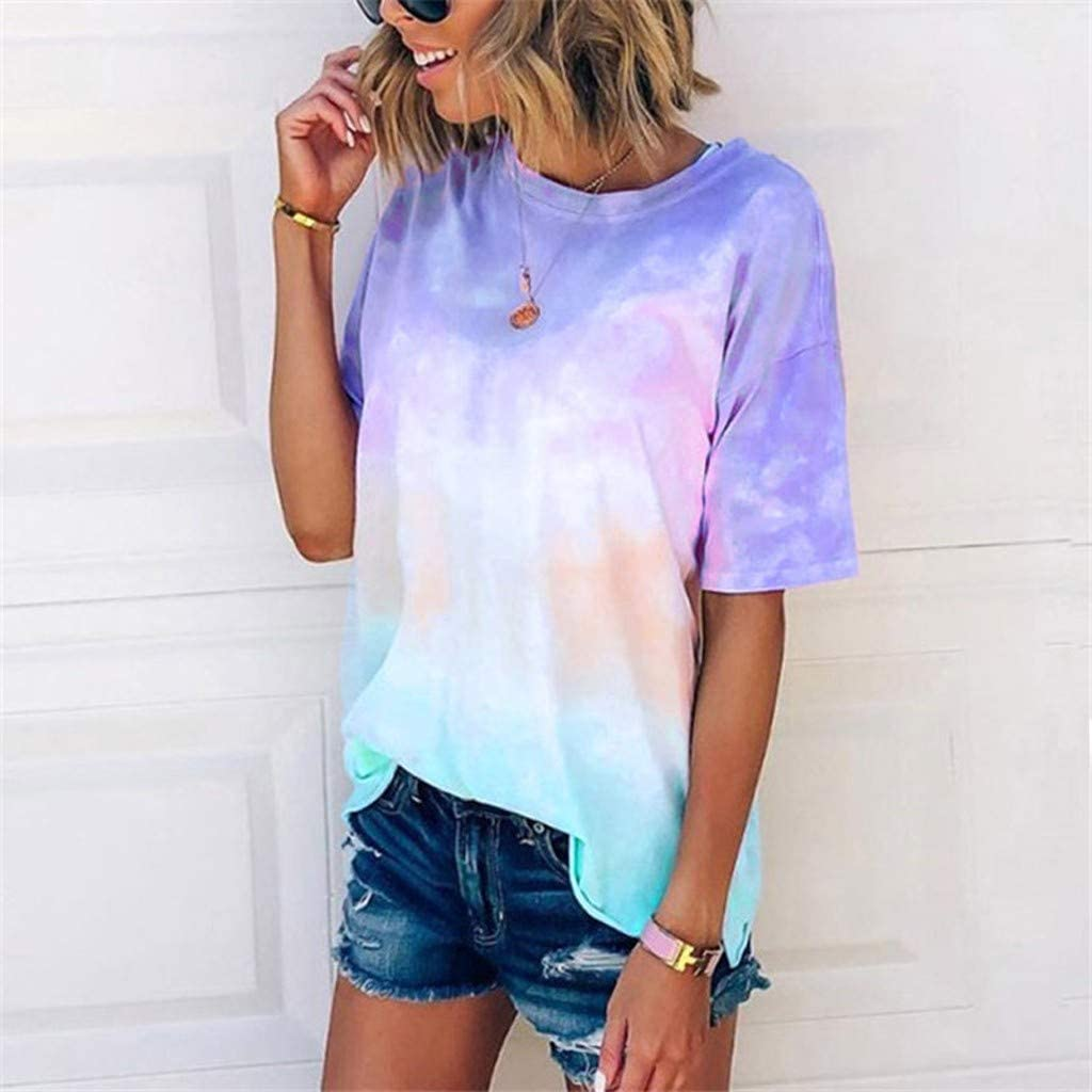 Womens Tops Short Sleeve V Neck Womens Be Kind T Shirt Summer Letter Print Short Sleeve Loose Tops Inspirational Graphic Tees Blue