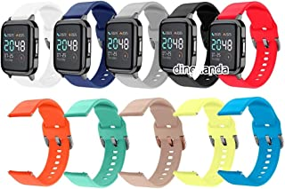 QZ Soft Silicone Band Strap for Haylou LS02 (Color : 14-LS02, Size : S size)