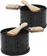 Mumustar - Une raclette à la Bougie - Faites Fondre Votre Fromage en 3 Minutes - A Table, Devant la télé ou même en Pique ...