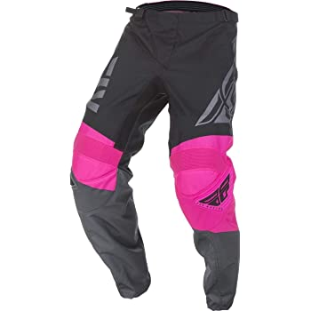 Grey Neon Pink Black Fly 2019 F-16 MX Motorcross Off Road Adult Pant