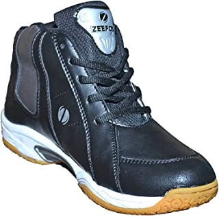 ZEEFOX Men's Basketball Shoes Black