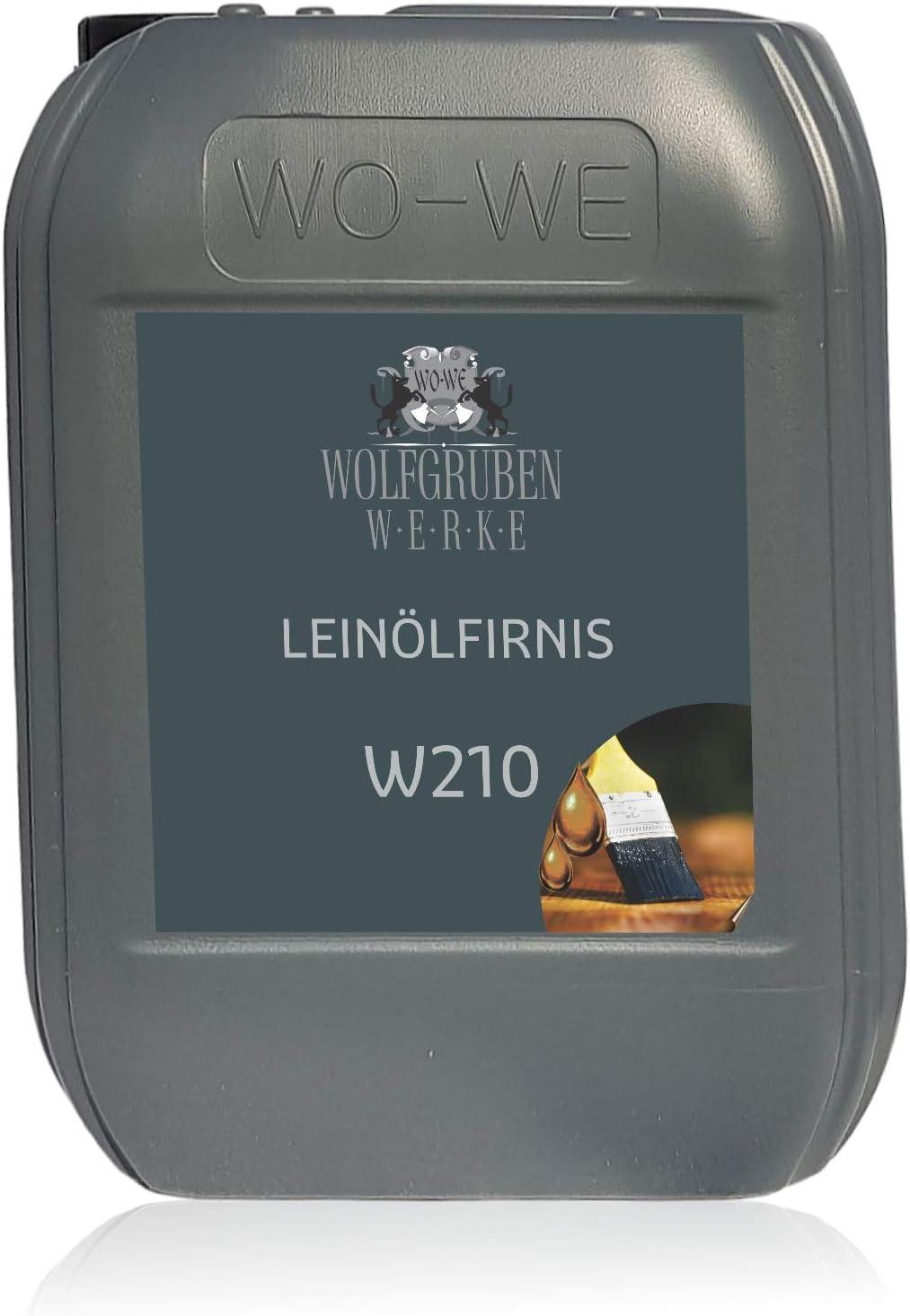 Aceite de linaza hervido natural para protección y cuidado de la madera W210 - 10L