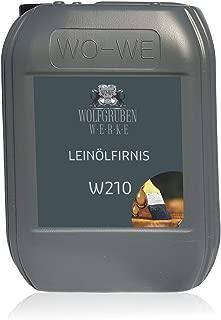 Aceite de linaza hervido natural para protección y cuidado de la madera W210-10L