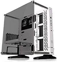 Thermaltake Core P3 ATX Tempered Glass Gaming Computer Case Chassis, Open Frame Panoramic Viewing, White Edition, CA-1G4-0...