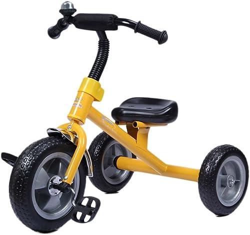 Kinder Dreirad - Baby Balance fürrad, Kinder fürt Auf Spielzeug, Sicher Und Bequem Infant First Bike Für Alter Von 24 Bis 60 Monaten, Eine Gute M ichkeit, Motorik Zu Entwickeln Und Viel Spaß ,Gelb